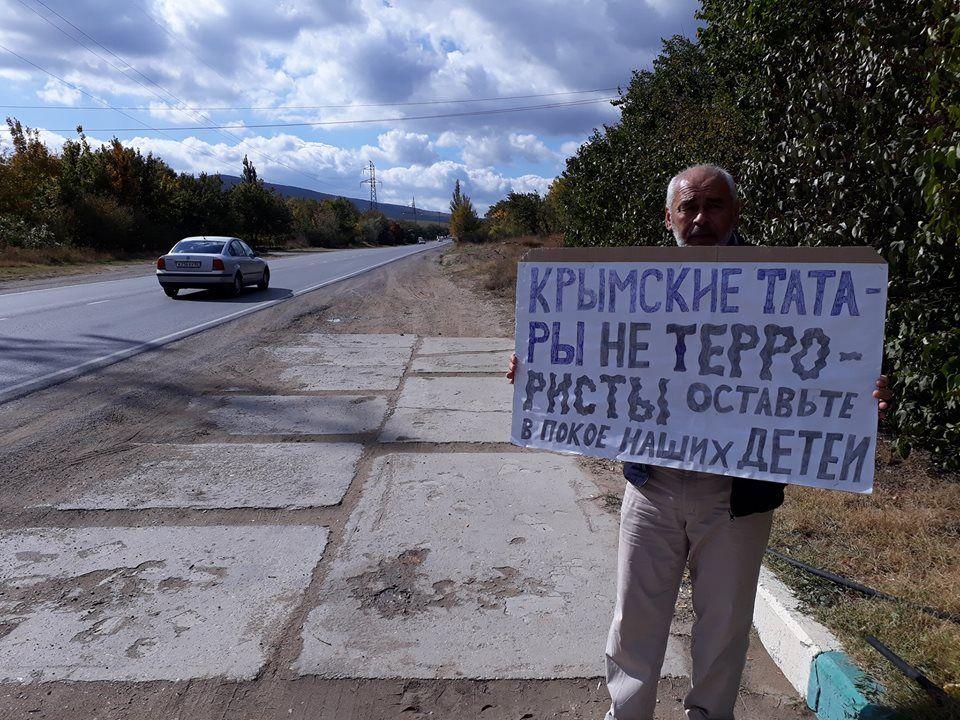 Силовики РФ начали задерживать активистов/ фото Крымская солидарность, Facebook