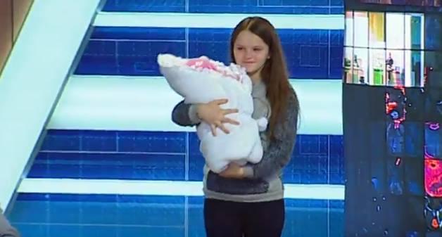 Девочка со Львова родила в 12 лет / Скриншот