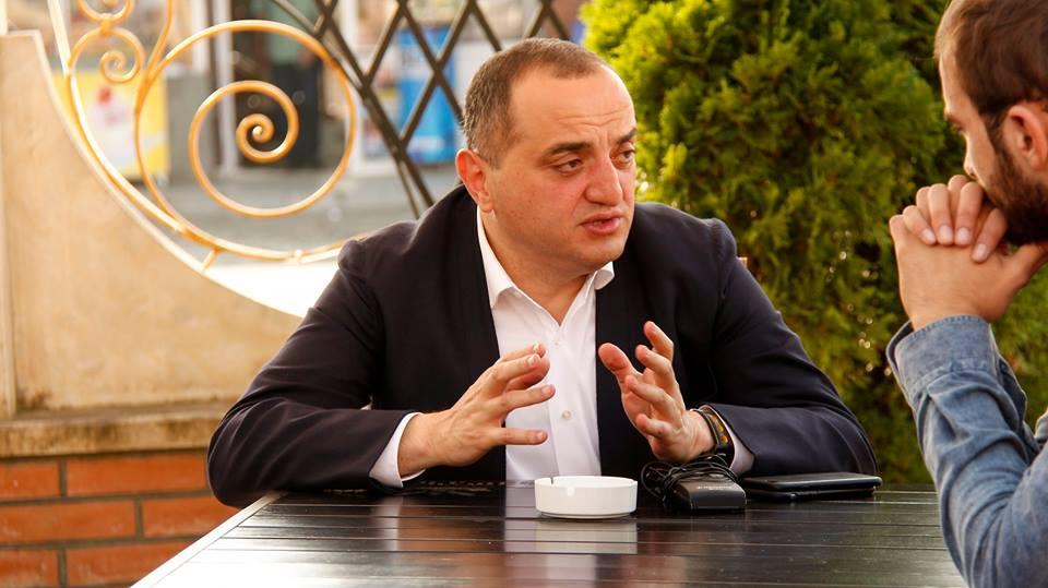 Накопія – один из соратников экс-президента Грузии Михеила Саакашвили и входит в партии