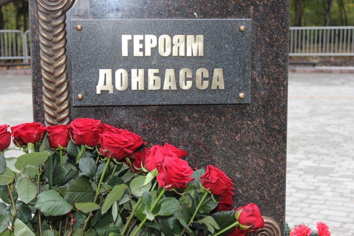 Ватажок бойовиків Захарченко зазначив, що пам'ятник відкрито в річницю ліквідації терориста