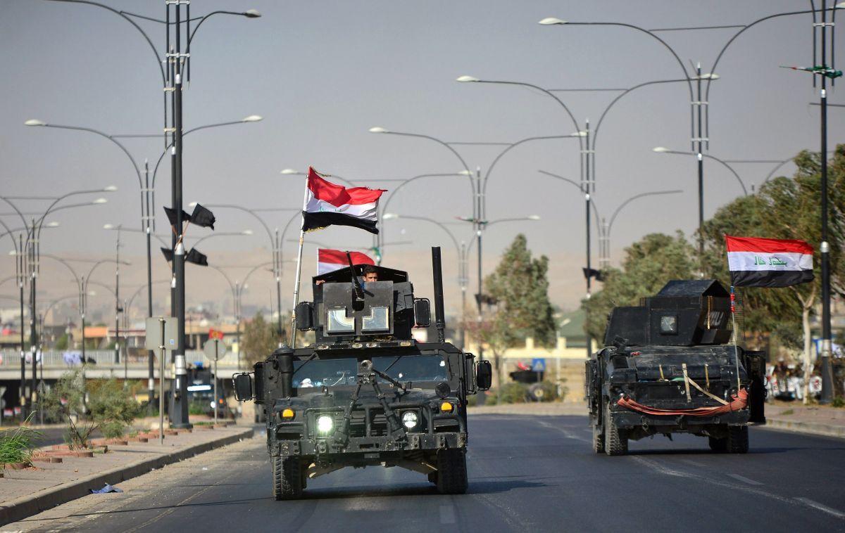 Сили безпеки Іраку в Кіркуку / REUTERS