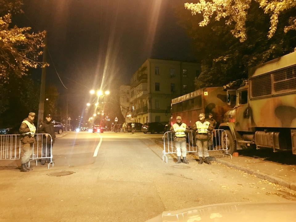Меры безопасности усилены из-за визита президента Мальты / фото facebook Сергей Лещенко