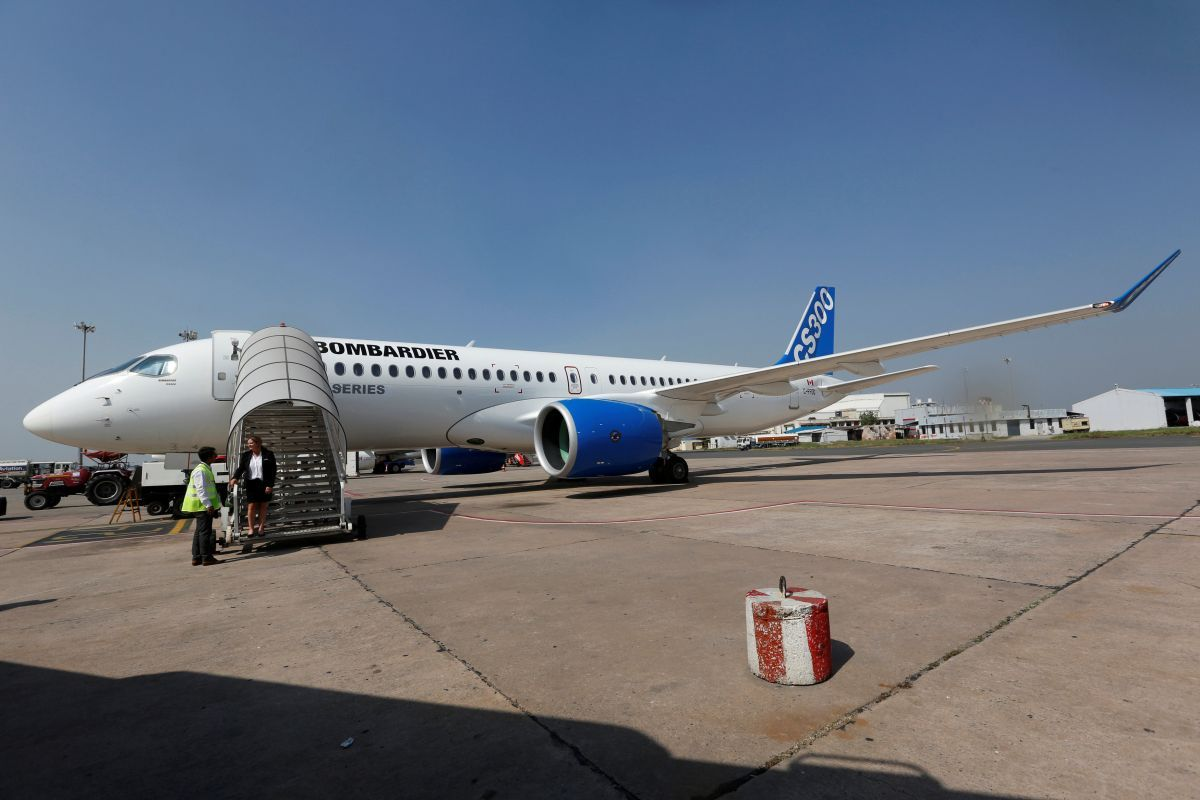 Літак Bombardier C-series / REUTERS