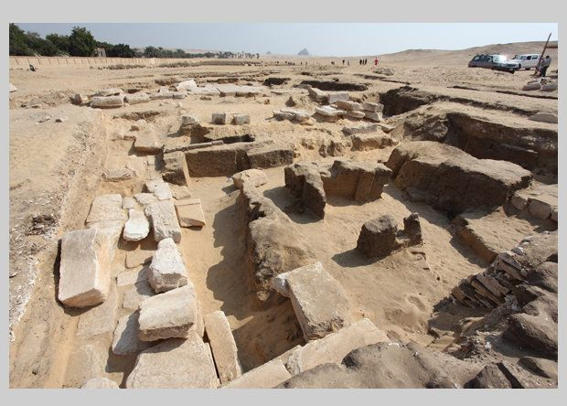Рамзес II возродил Мемфис, основав поблизости новую столицу / Фото Czech Institute of Egyptology