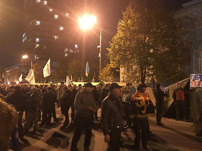 Митинг понемногу расходится / фото УП