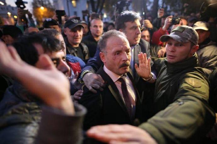 Барна вважає напад на нього проплаченим / фото Дмитро Ларін, УП
