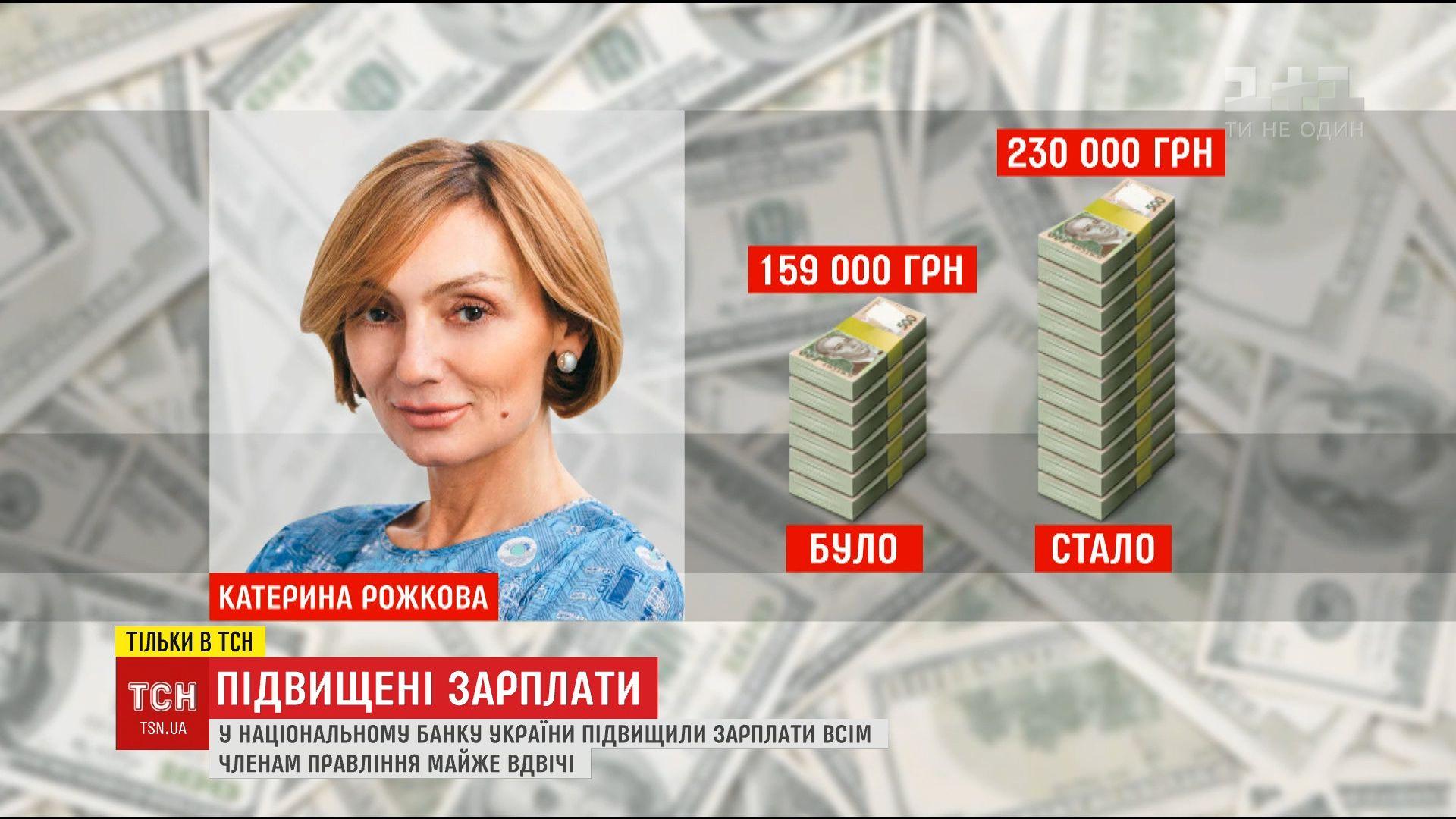 Работники Нацбанка вдвое повысили себе зарплату /