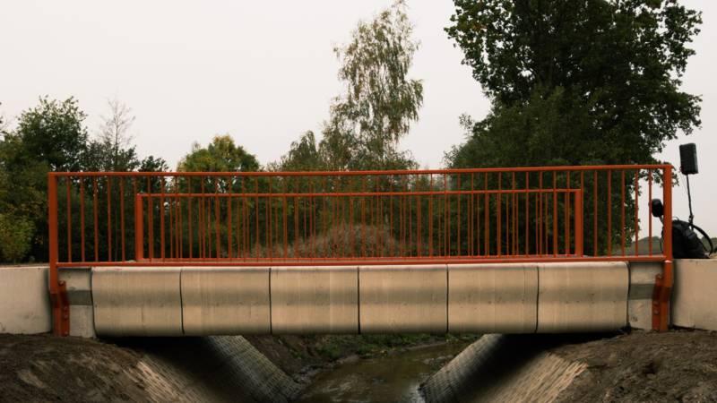 Міст складається з близько 800 друкованих шарів і збирається на місці / nos.nl