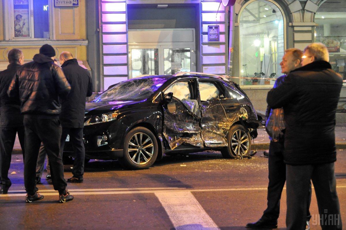 Зайцева, которая ночью наехала на людей в Харькове, превысила скорость и проехала на запрещающий сигнал светофора / фото УНИАН