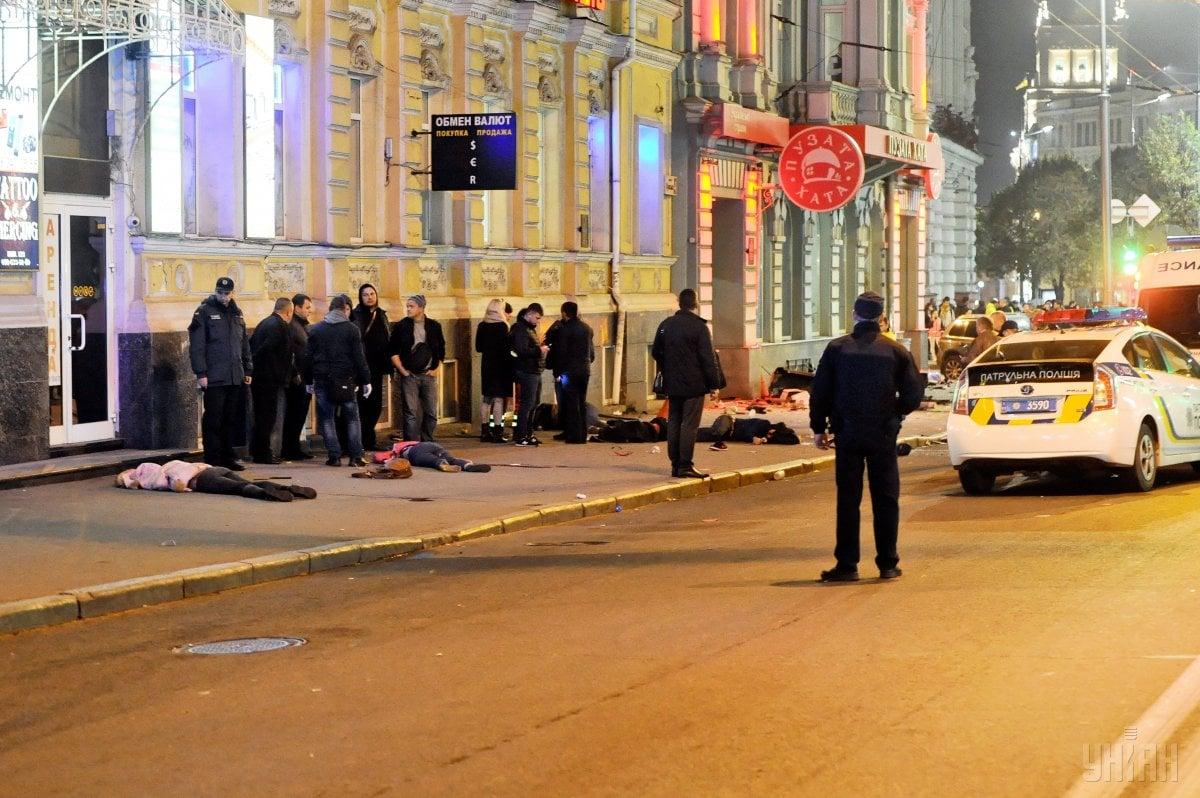 Сейчас по делу ДТП назначено 14 экспертиз / фото npu.gov.ua