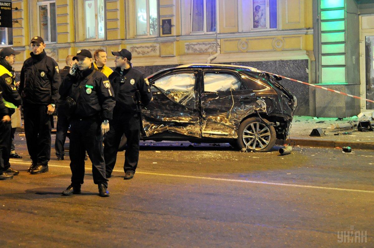 Слідчі дії у справі про криваву ДТП у центрі Харкова продовжуються / фото npu.gov.ua