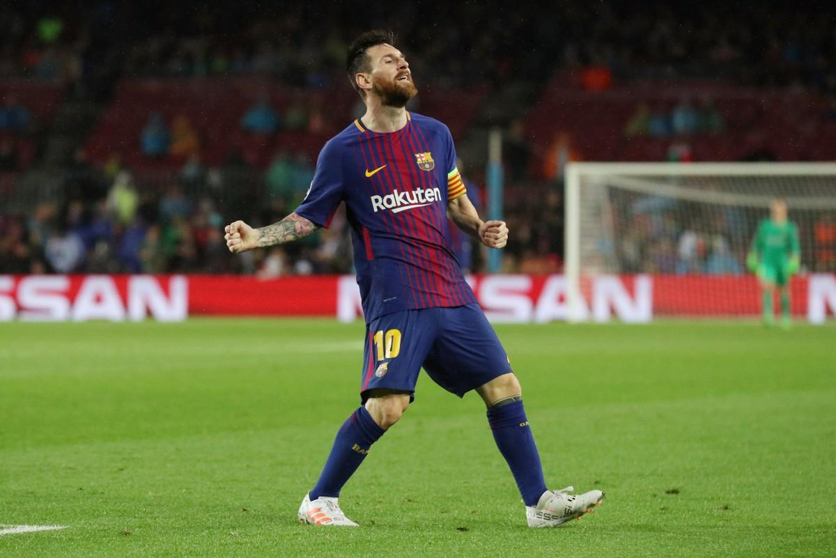 Лионель Месси забил 100-й гол в еврокубках / Reuters