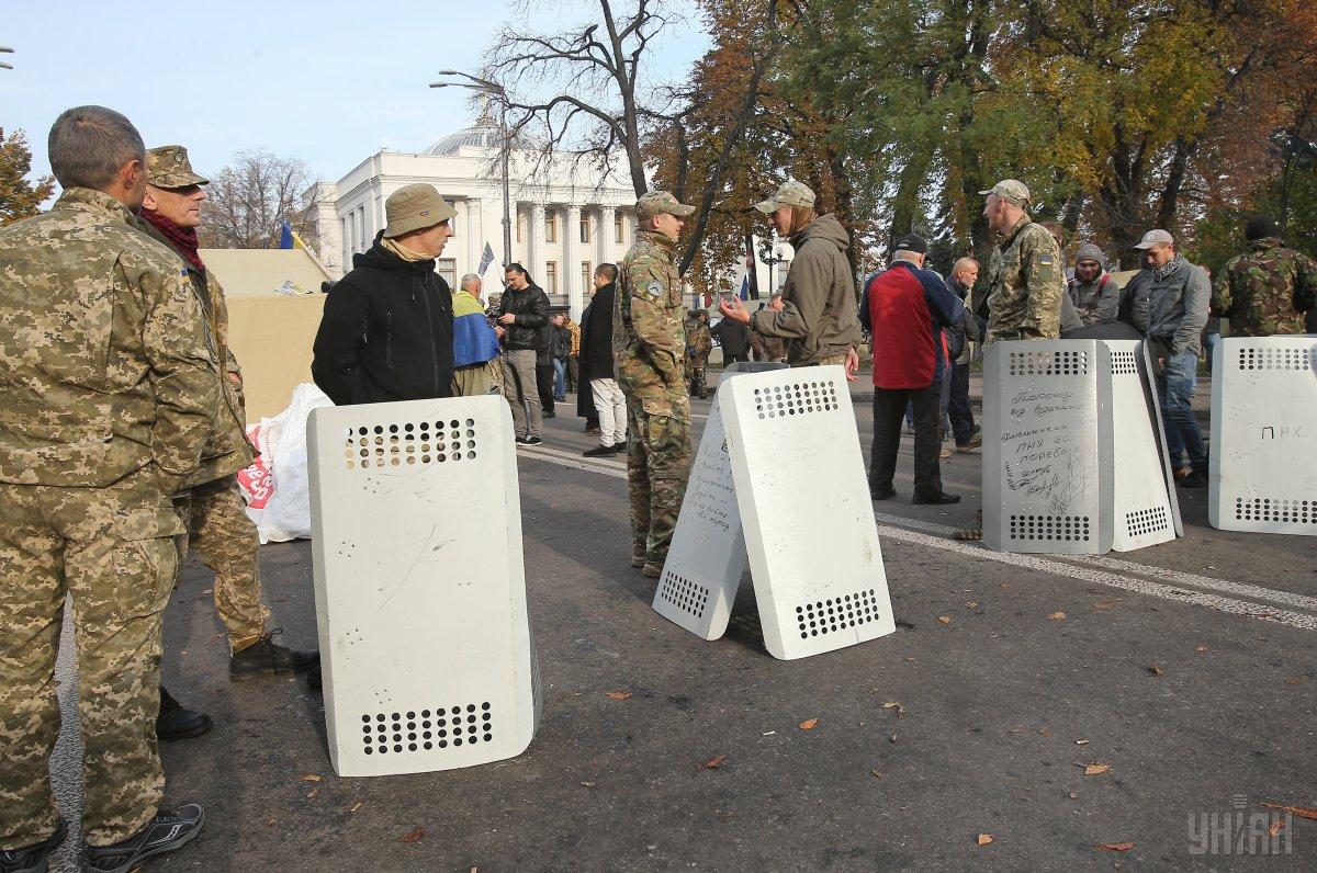 Президент вважає ціллю мітингувальників дестабілізацію в Україні / фото УНІАН