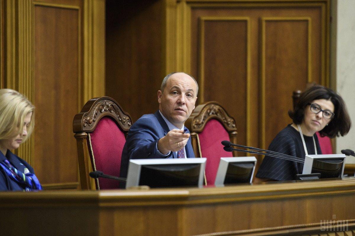 Андрей Парубий подготовил закон о дипслужбе к подписи президента / фото УНІАН