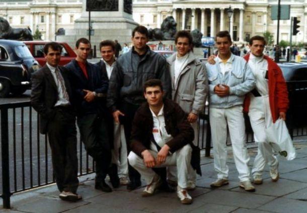 Сборная СССР по кикбоксингу на чемпионате мира-1991 в Париже  / klitschko-brothers.com