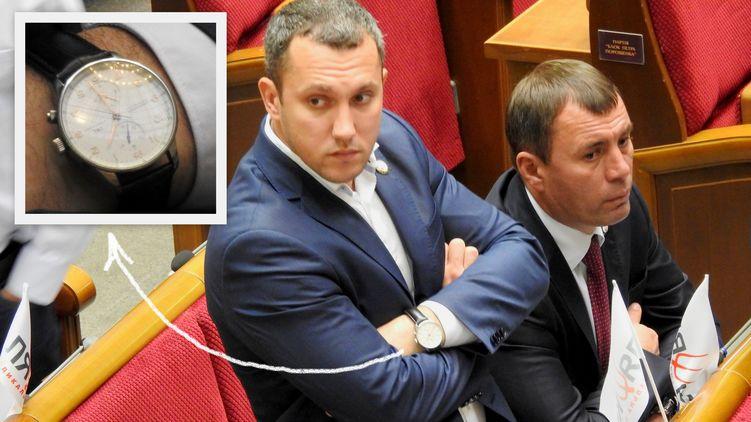 Годинник Лінько стоять як автомобіль середнього класу / Фото strana.ua