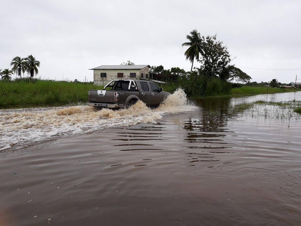 Повінь на острові Тринідад / Trinidad and Tobago Weather Center, Mitra Jaglal