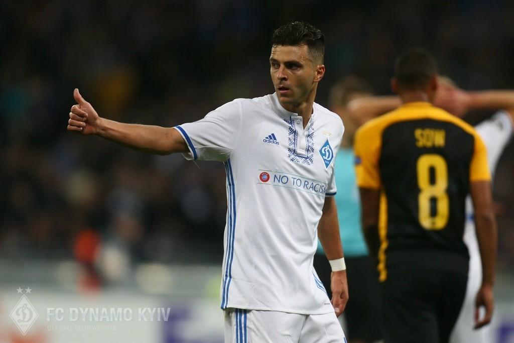 Мораес считает, что ответный матч в Швейцарии будет еще сложнее / fcdynamo.kiev.ua