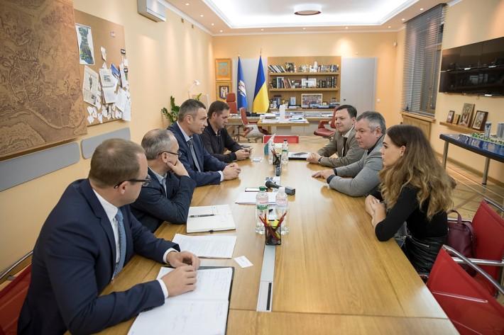 Зустріч Кличка з представниками корпорації Google Україна / фото kiev.klichko.org