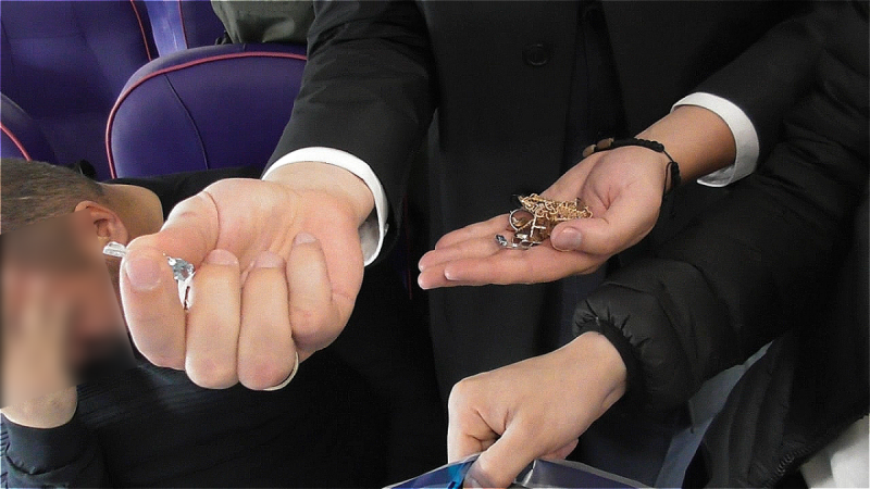 Розенблата задержали в аэропорту с бриллиантами / фото НАБУ