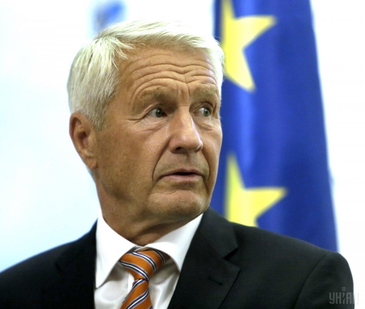 Генеральный секретарь Совета Европы Турбьерн Ягланд / фото УНИАН
