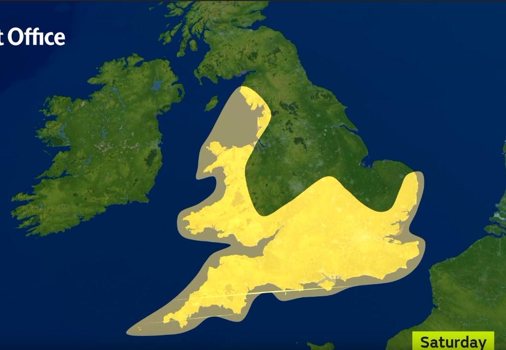 На Британию надвигается шторм