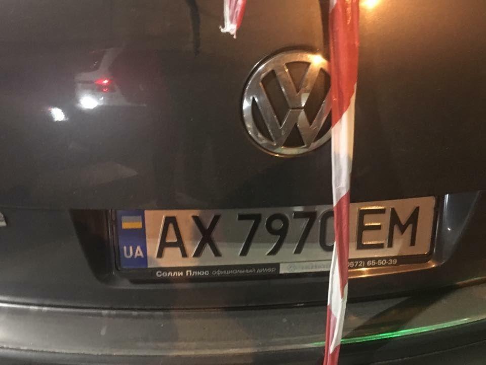 Водій Volkswagen не отримав серйозних ушкоджень / фото facebook.com/Kharkov.City