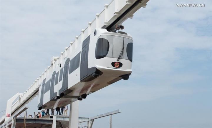Підвісна залізниця / фото Сіньхуа
