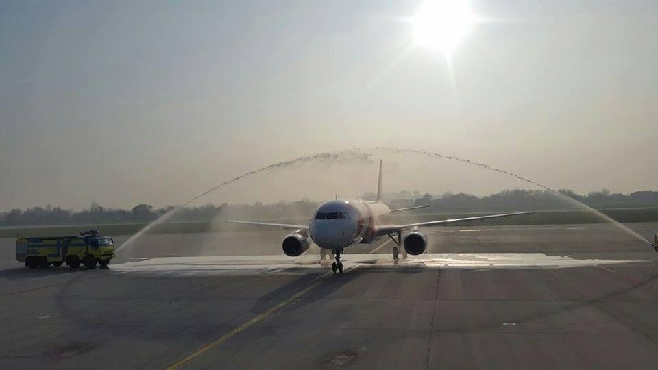 Полеты из Львова в Милан планируют осуществлять два раза в неделю / фото facebook/LvivAirport