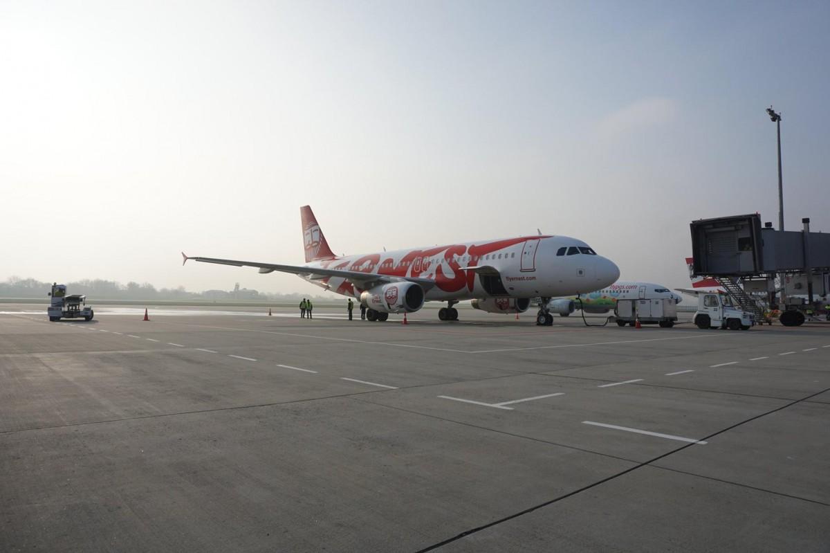 Ernest Airlines з 21 січня скасовує рейси зі Львова до Венеції і Мілан / фото facebook/LvivAirport