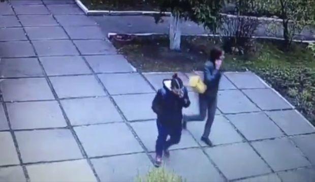 У викраденні підозрюють двох жінок / скріншот