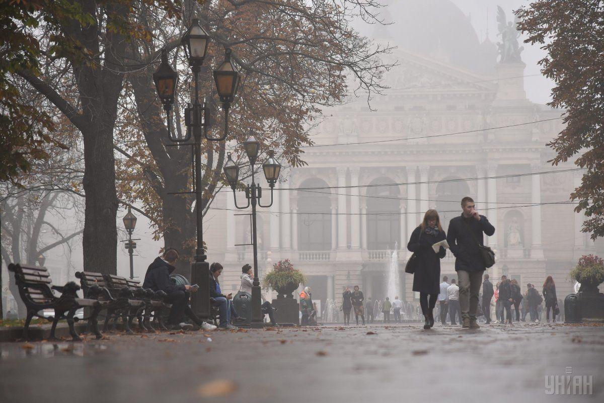 На западе Украины ожидается туман / УНИАН