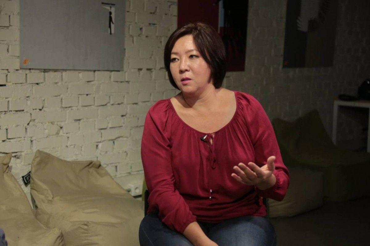 Жанара Ахмет была вынуждена уехать в Украину из Казахстана в марте 2017 года / фото