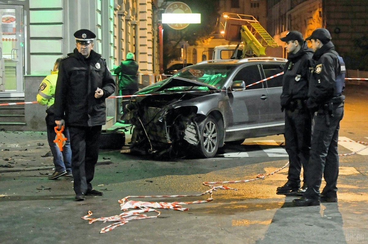 На днях в Харькове произошло ДТП, в результате которого погибли 5 человек / фото УНИАН