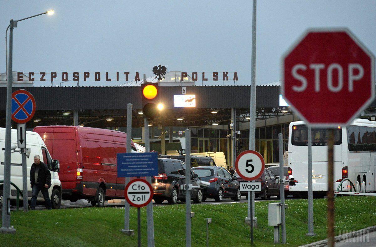 У Львівській області вночі не працювали пункти пропуску на кордоні з Польщею / фото УНІАН