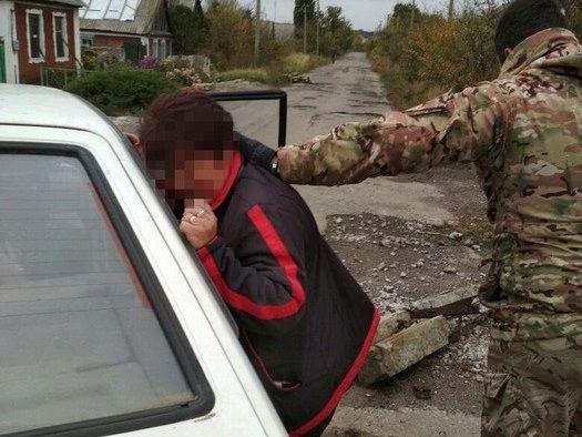 СБУ затримала інформаторку бойовиків / фото ssu.gov.ua