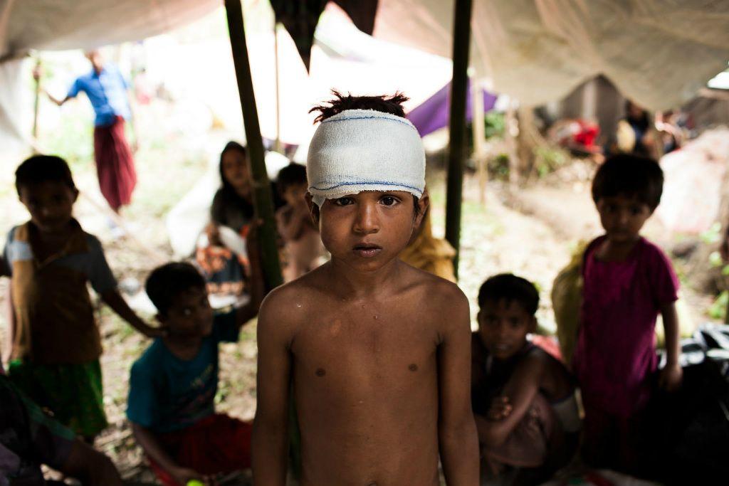 Восьмирічний Мухаммед з М'янми серед біженців в окрузі Кокс - Базар в Бангладеш. Фото ЮНІСЕФ