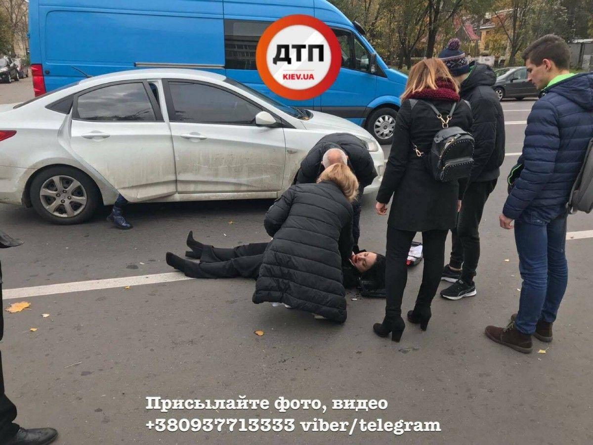 ДТП произошло на улице Васильковской / facebook.com/dtp.kiev.ua