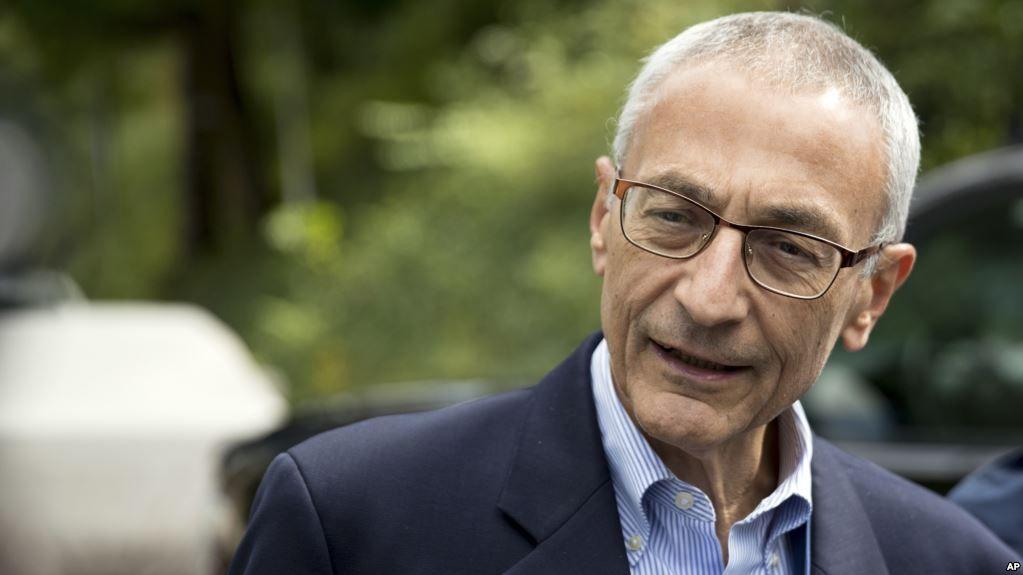 Джон Подеста очолював виборчу кампанію Клінтон / фото АР