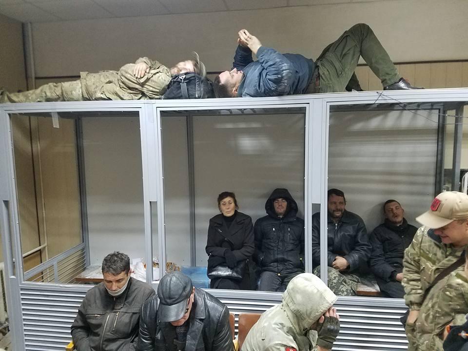 Помещение Святошинского райсуда / фото facebook.com/kutiepov