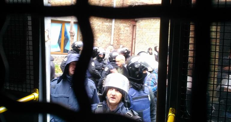 В зале суда было очень много журналистов, и большинство из них работала даже во время горячей фазы / Facebook Serhiy Lefter