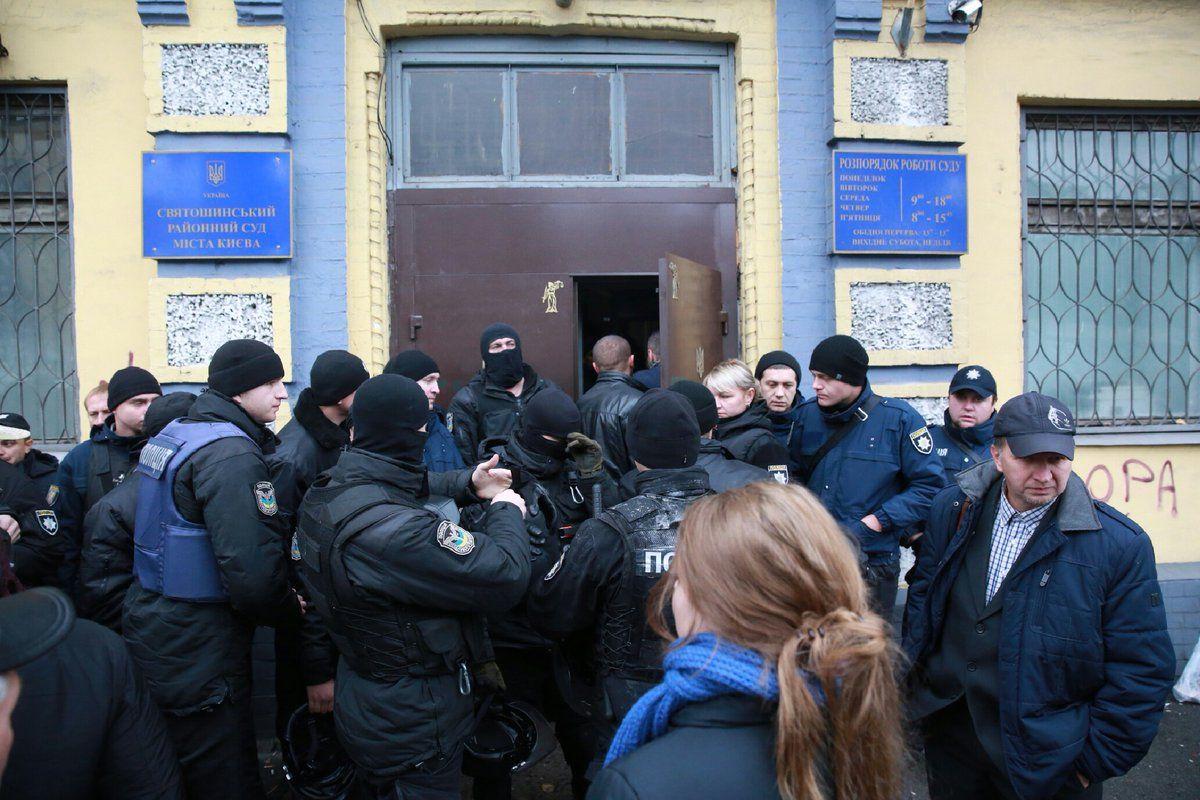 Кохановского доставили в суд / фото twitter.com/radiosvoboda