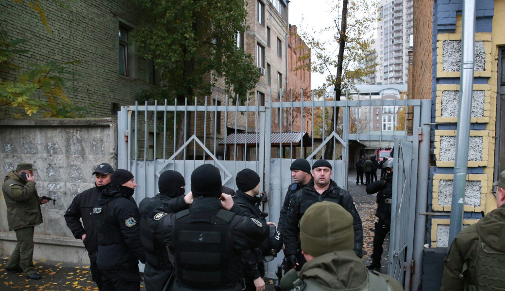 Как сказал корреспондент УНИАН, его несколько раз ударили / twitter.com/radiosvoboda