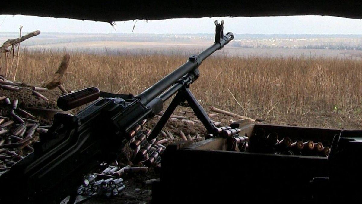 Боевики вблизи Широкиного постоянно идут на провокации / фото facebook.com/ato.news