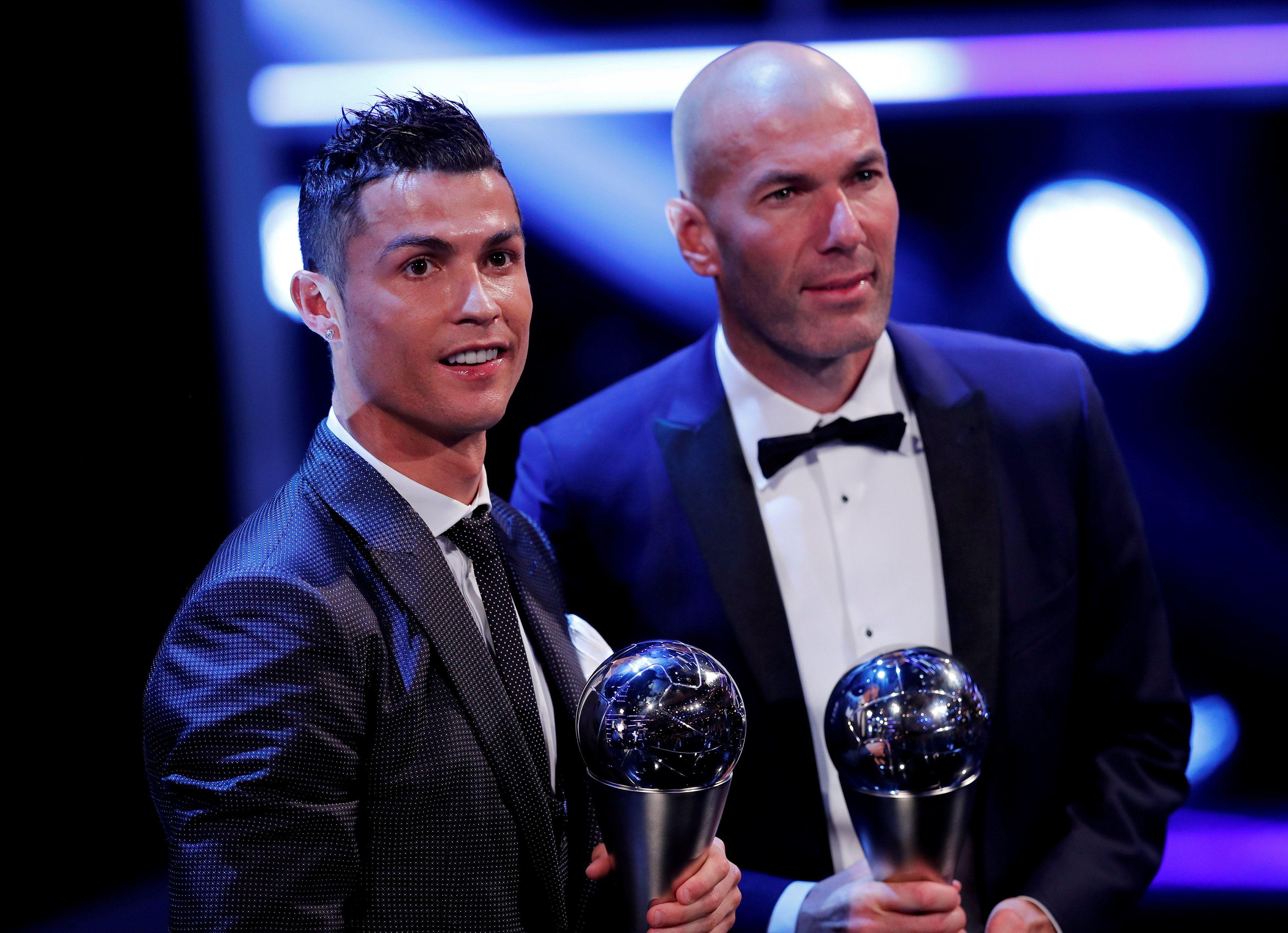 Лауреаты премии FIFA The Best 2017 / фото REUTERS