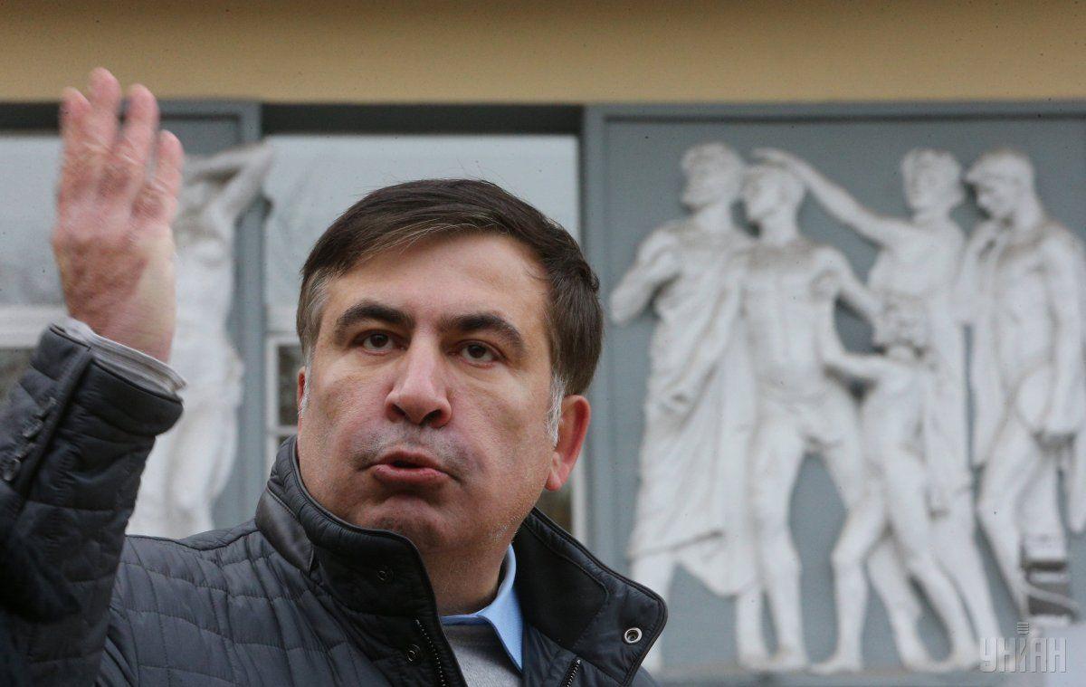Михэил Саакашвили / фото УНИАН