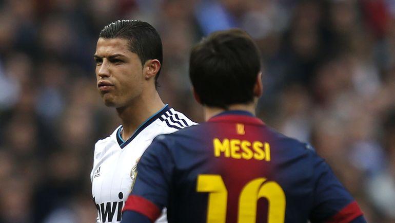 Роналду и Месси голосуют друг против друга / Reuters