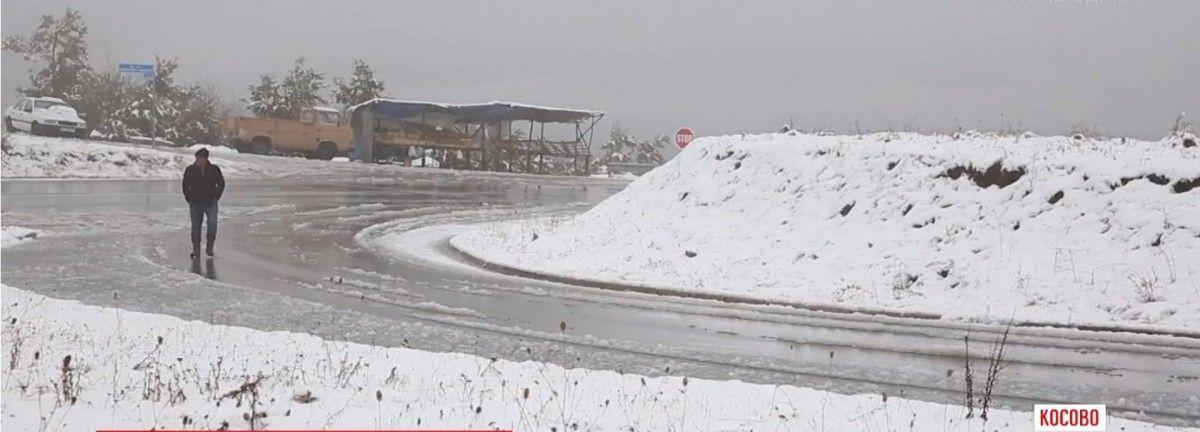 У Косово випав сніг / ТСН