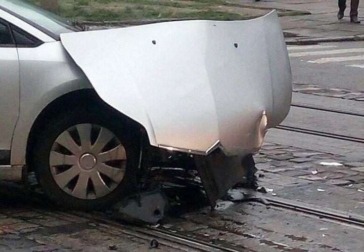 За рулем автомобиля Citroеn находилась женщина / фото varta1.com.ua