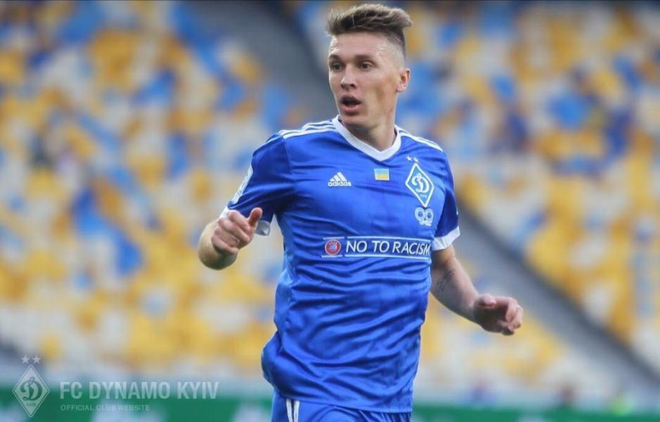 """Сидорчук вперше зіграв за """"Динамо"""" після серйозної травми / fcdynamo.kiev.ua"""